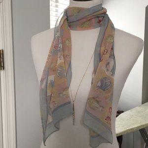 Pure silk scarf from Bill Blass